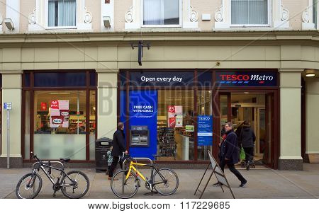 Tesco Metro Store in London