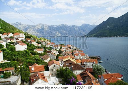 Landscape Of Montenegro, Perast