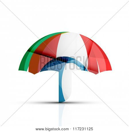 Umbrella protection logo