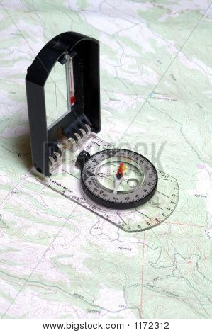 Map  Compass Close