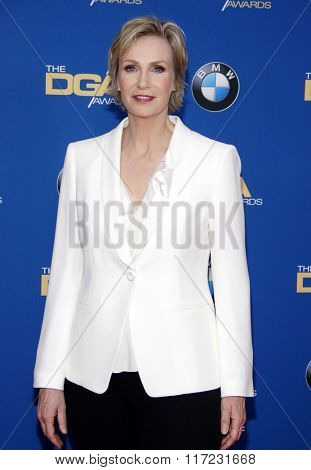 Jane Lynch at the 68th Annual Directors Guild Of America Awards held at the Hyatt Regency Century Plaza in Los Angeles, USA on February 6, 2016.