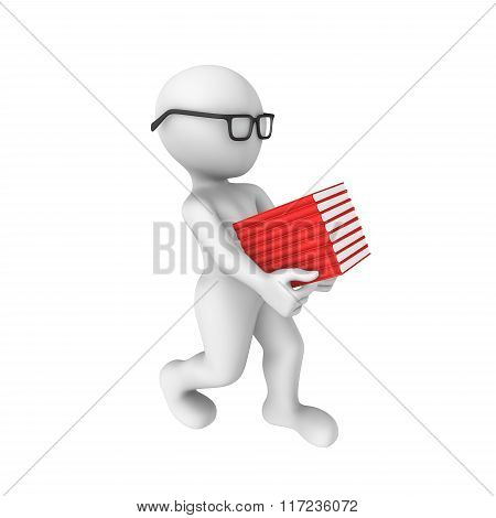 3D Man Bears Book