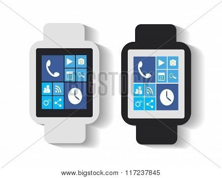 Smart watches interface
