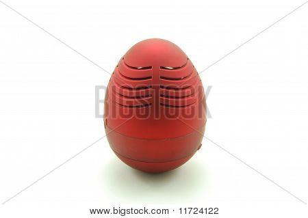 egg shaped media speaker