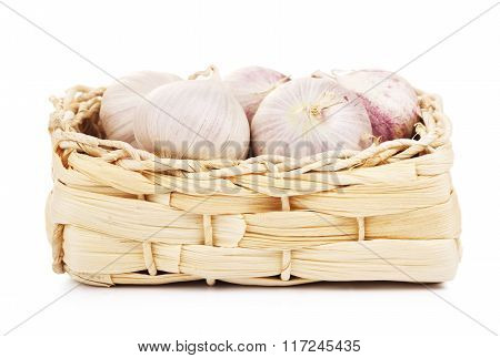 Chinese Solo Garlic In Basket