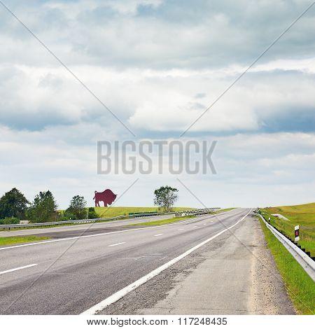 Highway In Belarus