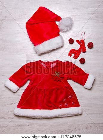 Christmas Fashionable Baby Set Of Clothes