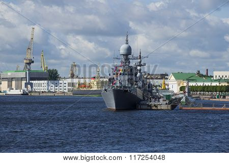 The ships of the Baltic fleet of the Russian Navy