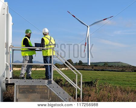 Detecting Installation Wind Turbines