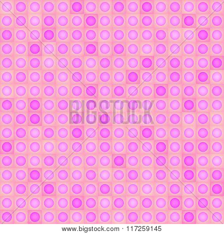 Seamless pattern - pink shapes.