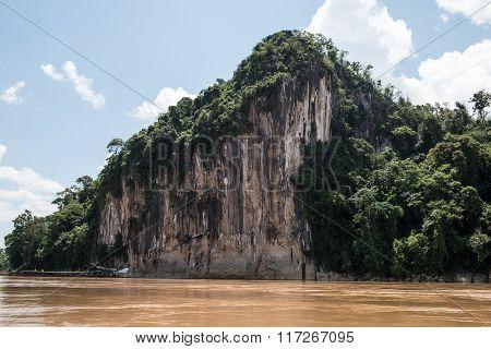Rocky Phou Si Mountain