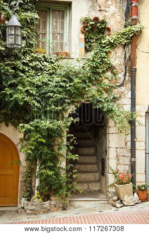 Entrance To An Old House