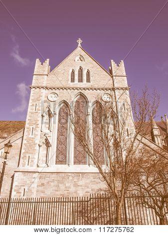Christ Church Dublin Vintage