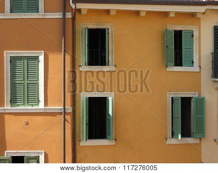 Traditional Italian House In Verona