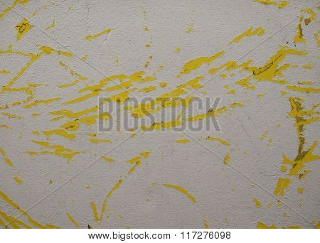 White And Yellow Cardboard Background