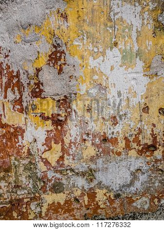 Concrete stained wall texture