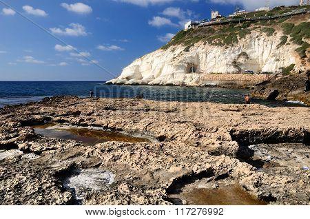 Israeli seashore.