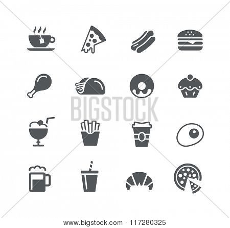 Food Icons - 1 / Utility Series