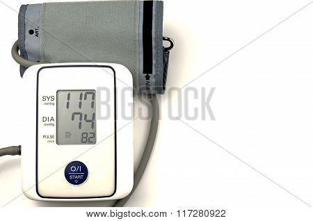 Blood Pressure Gauge..