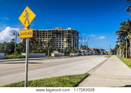 Fort Pierce A1A Road Florida