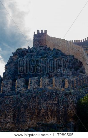 A Fortress On The Top Of The Mountain