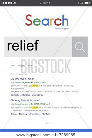 Relief Relax Support Aid Cure Help Welfare Giving Concept