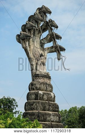 Giant Buddhist Statue