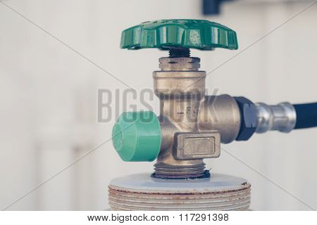metal valve gas