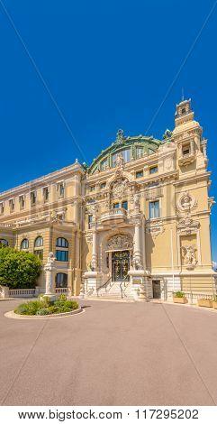 Fragment of Grand Casino in Monte Carlo, Monaco.