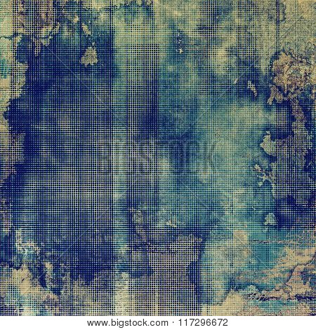 Abstract rough grunge background, colorful texture. With different color patterns: yellow (beige); brown; blue; cyan; gray
