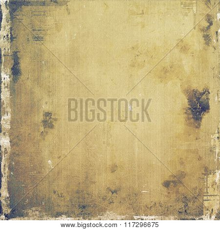 Grunge retro vintage texture, old background. With different color patterns: yellow (beige); brown; white; gray