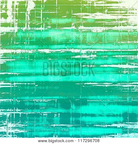 Aged grunge texture. With different color patterns: white; blue; cyan; green