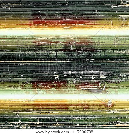 Highly detailed grunge texture or background. With different color patterns: yellow (beige); white; red (orange); green; black