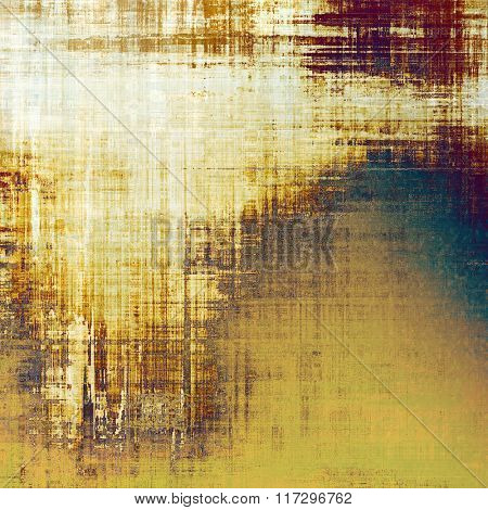 Grunge background with space for text or image. With different color patterns: yellow (beige); brown; white; green; purple (violet)