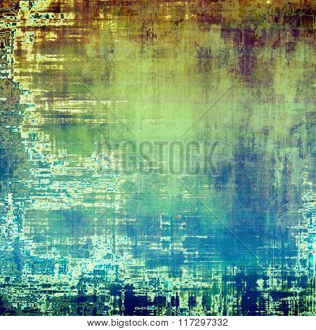 Rough grunge texture. With different color patterns: brown; white; blue; cyan; green