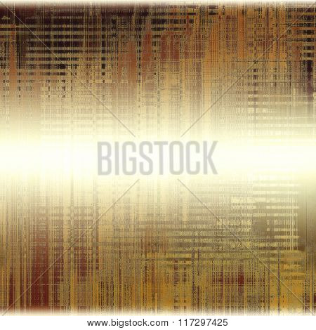 Grunge texture, distressed background. With different color patterns: yellow (beige); brown; white; gray