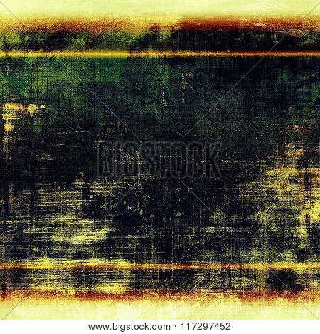Rough grunge texture. With different color patterns: yellow (beige); white; red (orange); green; black