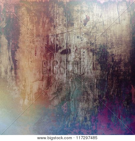 Beautiful vintage background. With different color patterns: yellow (beige); brown; red (orange); gray; purple (violet)