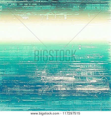 Old abstract grunge background for creative designed textures. With different color patterns: yellow (beige); white; blue; cyan; green