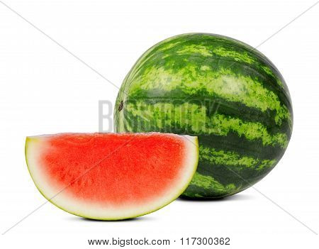 Fresh green melon