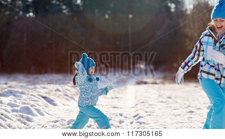Winter fun time