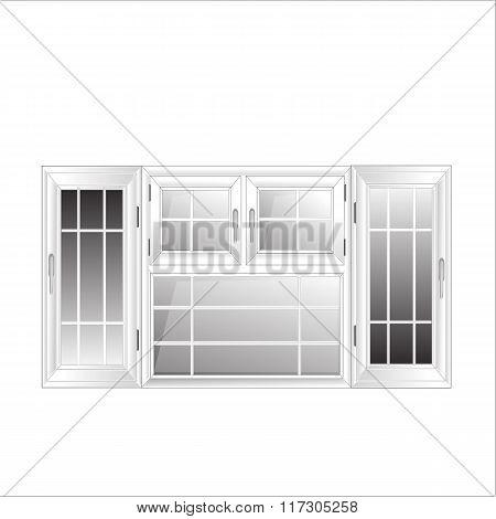 Vector Windows Plastic Glosed