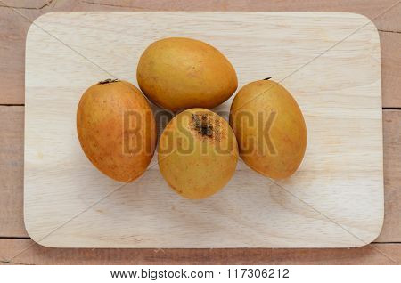 Sapodilla, Tropical Fruit.