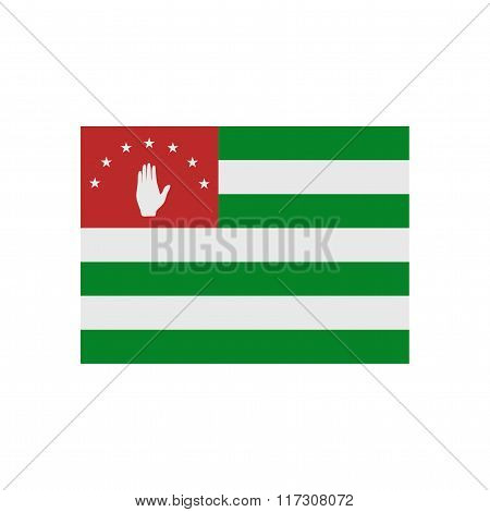 A flag of Abkhazia