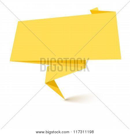 Super origami banner.
