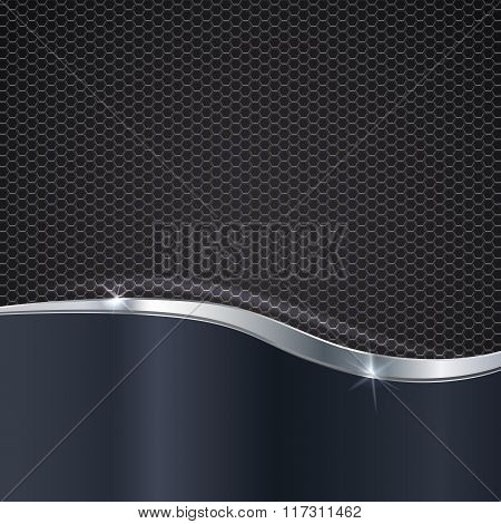 Elegant metallic background