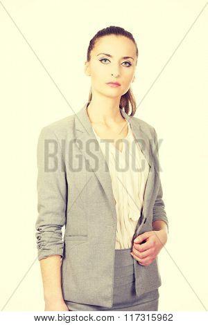 Beautiful confident businesswoman.