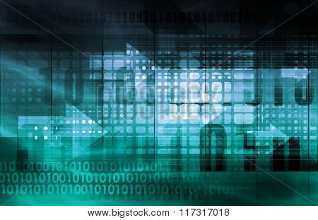 IT Services or Information Technology Solutions as Art