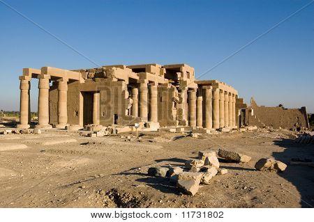 Ramesseum Temple, Luxor, Egypt