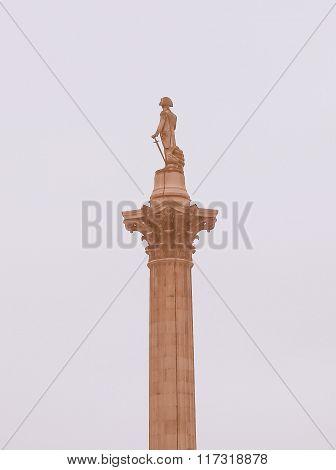 Nelson Column, London Vintage